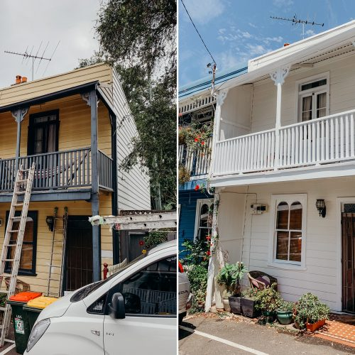 Our House Painting Work - Before & After 6