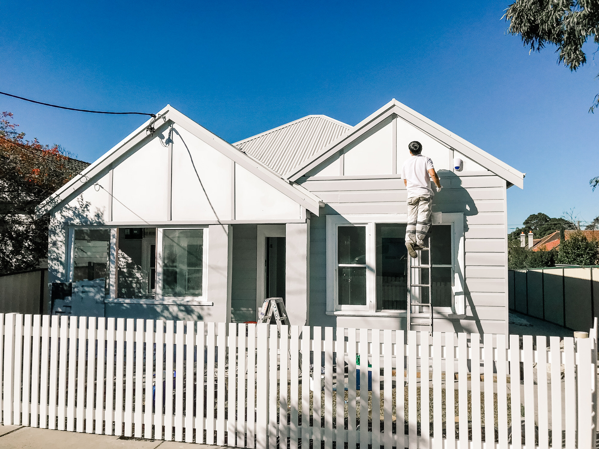 Sydney House Exterior Painting
