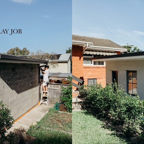 Our House Painting Work - Before & After 1